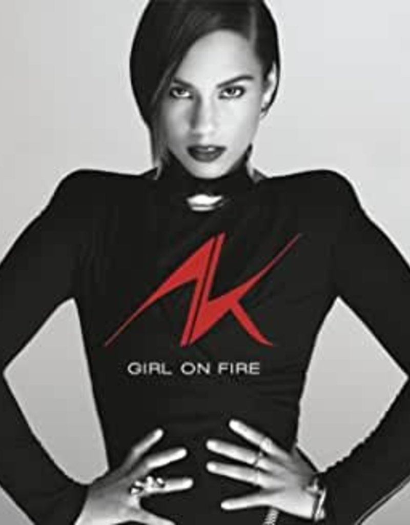 Used CD Alicia Keys- Girl On Fire