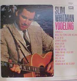 Used Vinyl Slim Whitman- Yodeling