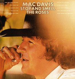 Used Vinyl Mac Davis- Stop And Smell The Roses