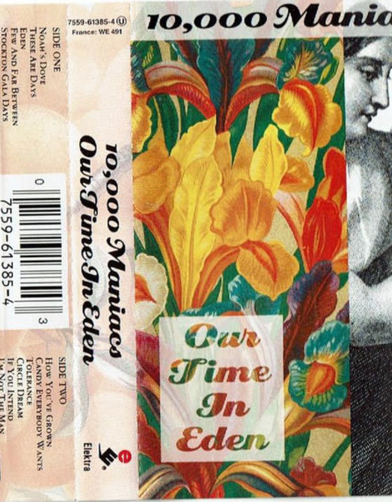 Used Cassettes 10,000 Maniacs- Our Time In Eden