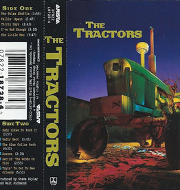 Used Cassettes The Tractors- The Tractors