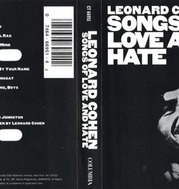 Used Cassettes Leonard Cohen- Songs Of Love And Hate