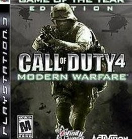 PS3 Call of Duty 4 Modern Warfare [Game of the Year]