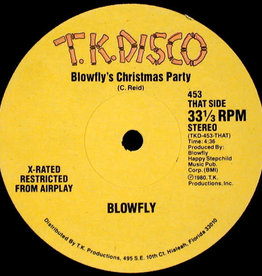 """Used Vinyl Blowfly- Blowfly's Christmas Party/Blowfly's New Years Party (12"""")(Sealed)"""