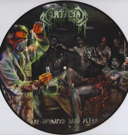Used Vinyl Mortician- Reanimated Dead Flesh (Pic Disc)