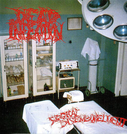 Used Vinyl Dead Infection- Surgical Disembowelment (German 1st Pressing)