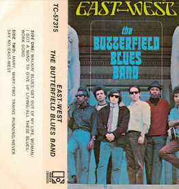Used Cassette Butterfield Blues Band- East-West