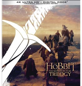 Used BluRay The Hobbit: Motion Picture Trilogy (4K)