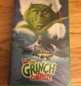 Used VHS How The Grinch Stole Christmas (2000)