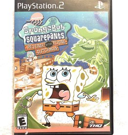 PS2 SpongeBob SquarePants Revenge of the Flying Dutchman