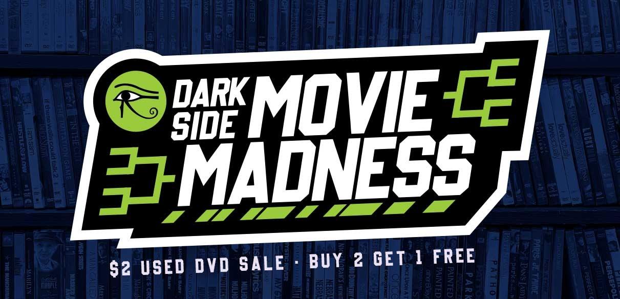 Movie Madness $2 Preowned DVD sale + BTGO