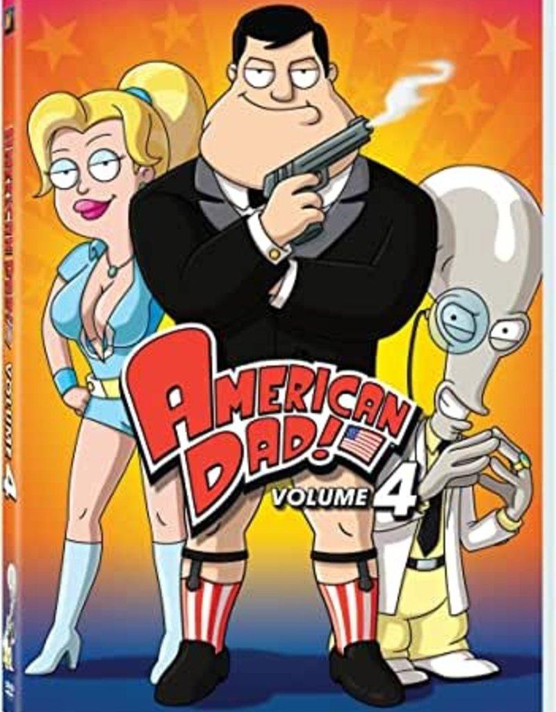 Used DVD American Dad Volume 4