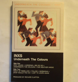Used Cassette INXS- Underneath The Colors