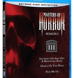 Used BluRay Masters Of Horror Season 1 Volume III