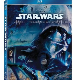 Used BluRay Star Wars IV V VI