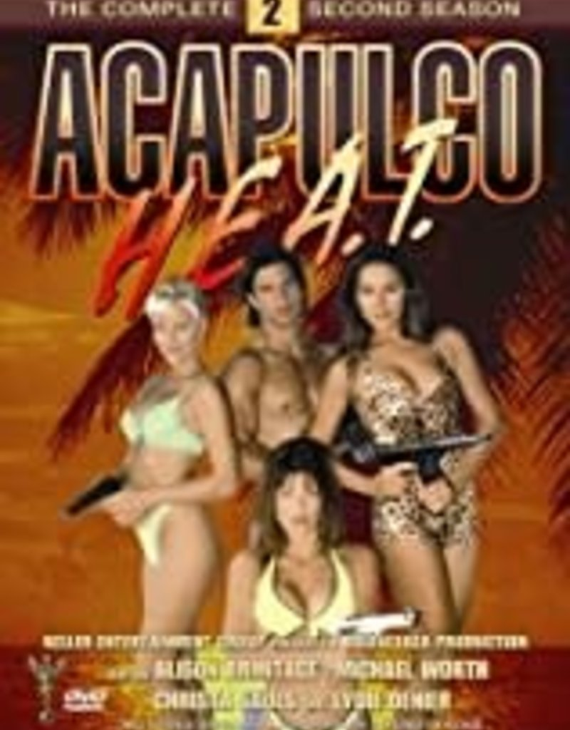 Used DVD Acapulco HEAT Second Season