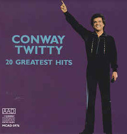 Used CD Conway Twitty- 20 Greatest Hits
