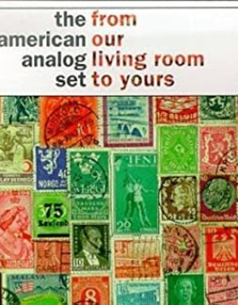 Used CD American Analog Set- From Our Living Room To Yours
