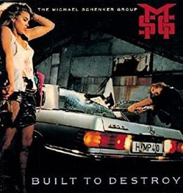 Used CD Michael Schenker Group- Built To Destroy