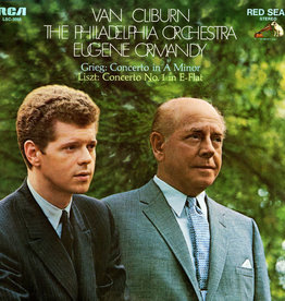 Used Vinyl Grieg/ Liszt- Concerto In A Minor/ Concerto No. 1 In E-Flat