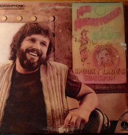 Used Vinyl Kris Kristofferson- Spook Sideshow (Quad)