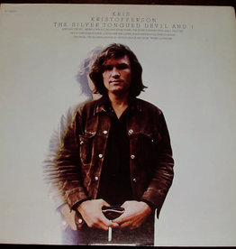 Used Vinyl Kris Kristofferson- The Silver Tongued Devil And I