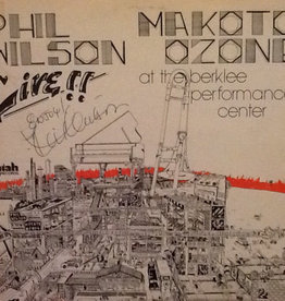 Used Vinyl Phil Wilson/ Makoto Ozone- Live!!