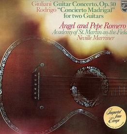 Used Vinyl Giuliani/ Rodrigo- Guitar Concerto, Op. 30/ Concierto Madrigal For Two Guitars