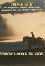 Used Vinyl Benjamin Luxon & Bill Crofut- Simple Gifts