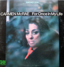 Used Vinyl Carmen McRae- For Once In My Life