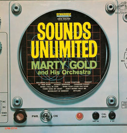 Used Vinyl Marty Gold And His Orchestra- Sounds Unlimited