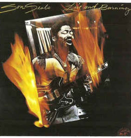Used Vinyl Son Seals- Live And Burning