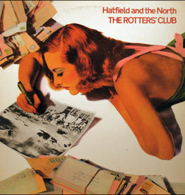 Used Vinyl Hatfield And The North- The Rotters' Club (1976 UK Reissue)