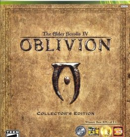 XBox 360 Elder Scrolls IV Oblivion (Collector's Edition)(No Manual/Coin)