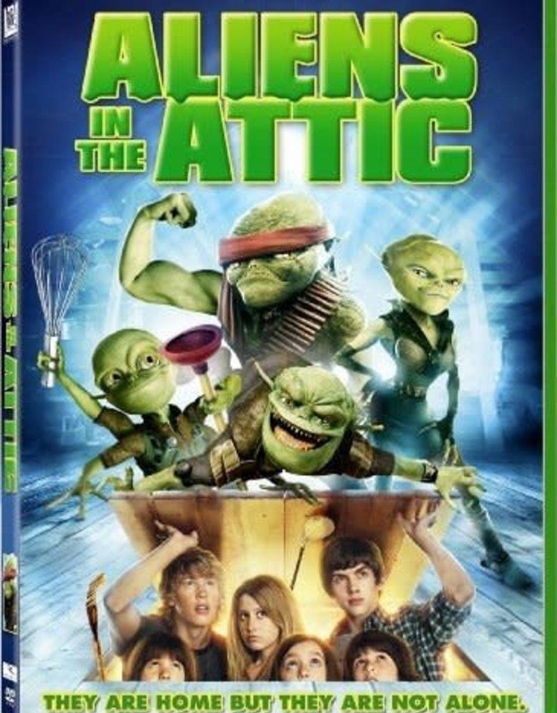 Used DVD Aliens In The Attic