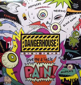 Used Vinyl Various- Dangerhouse Vol 2 (Green Vinyl)