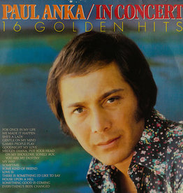 Used Vinyl Paul Anka- In Concert (Sealed)