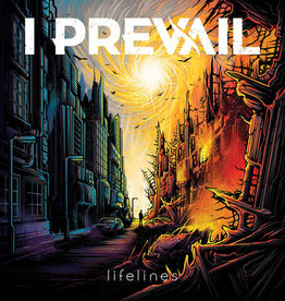Used Vinyl I Prevail- Lifelines (Orange/Yellow/Purple Starburst)