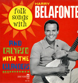 Used Vinyl Harry Belafonte- Folk Songs