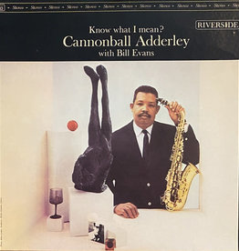 Used Vinyl Cannonball Adderly- Know What I Mean? (1984 OJC Reissue)(Sealed)