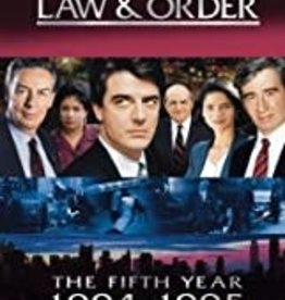 Used DVD Law & Order The Fifth Year 1994-1995 Season