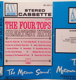 Used Vinyl Four Tops- Greatest Hits