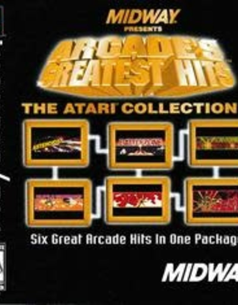 PS1 Arcade's Greatest Hits Atari Collection 1
