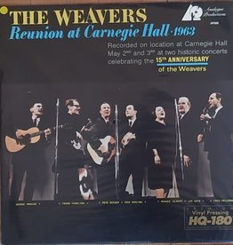 Used Vinyl The Weavers- At Carnegie Hall 1963 (1994 Analogue Productions Reissue)