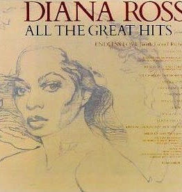 Used Vinyl Diana Ross- All The Great Hits