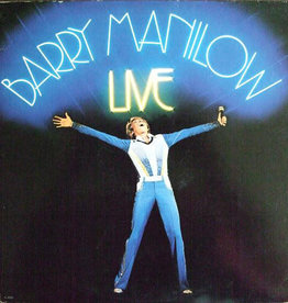 Used Vinyl Barry Manilow- Live