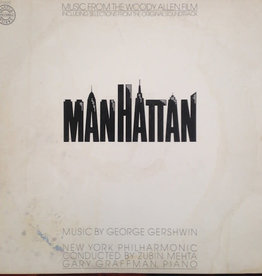 Used Vinyl Manhattan Soundtrack