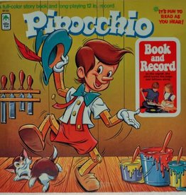 Used Vinyl Pinnochio Book And Record