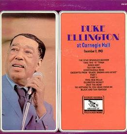 Used Vinyl Duke Ellington- At Carnegie Hall