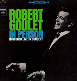 Used Vinyl Robert Goulet- In Concert